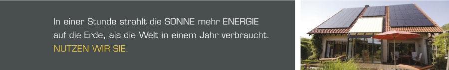 Sonne Energie